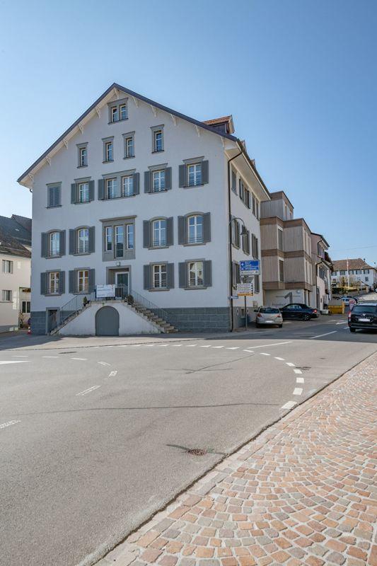 Moderne 4½-Zimmer-Wohnung im Zentrum von Hallau sucht Stockwerkeigentümer