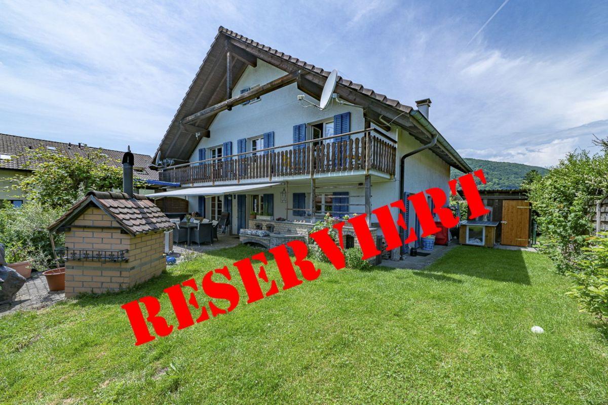 6½-Zimmer-Einfamilienhaus mit 2-Zimmer-Einliegerwohnung an sonniger, ruhiger Lage im Herzen von Beringen